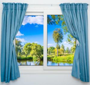 mytí a leštění oken suchou metodou