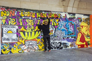 Odstranění graffiti Praha 5