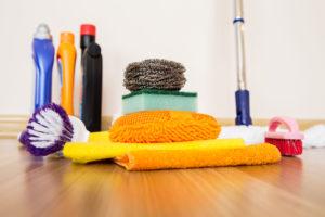 pomůcky pro čištění