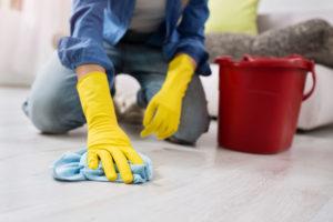 jak vyčistit podlahu