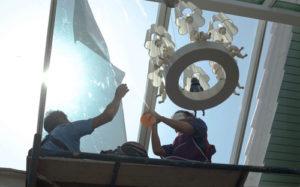 mytí střešních oken a vikýřů
