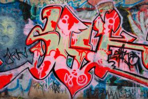 Krásné graffiti v Brně