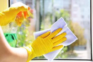 správně umytá a vyleštěná okna