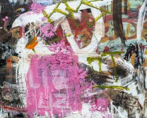 graffiti na mostech