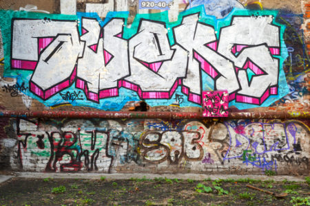Graffiti a prevence? To je to nejlepší, co můžete udělat!