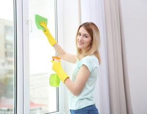 správné leštění oken
