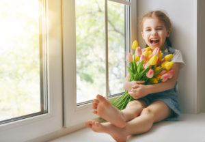 jak umývat okna