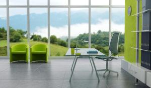 Okna v kancelářích