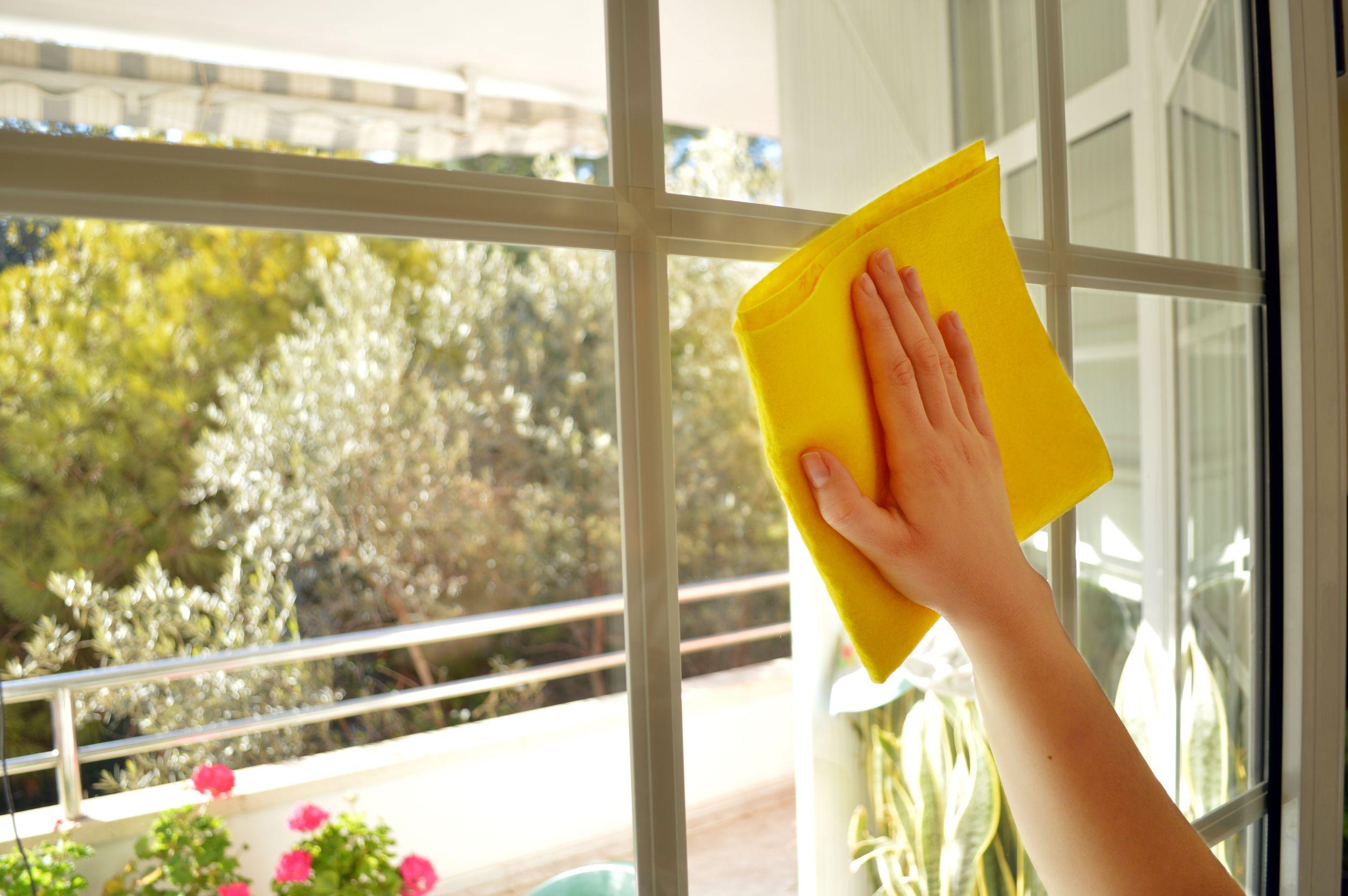 mytí balkonových skel