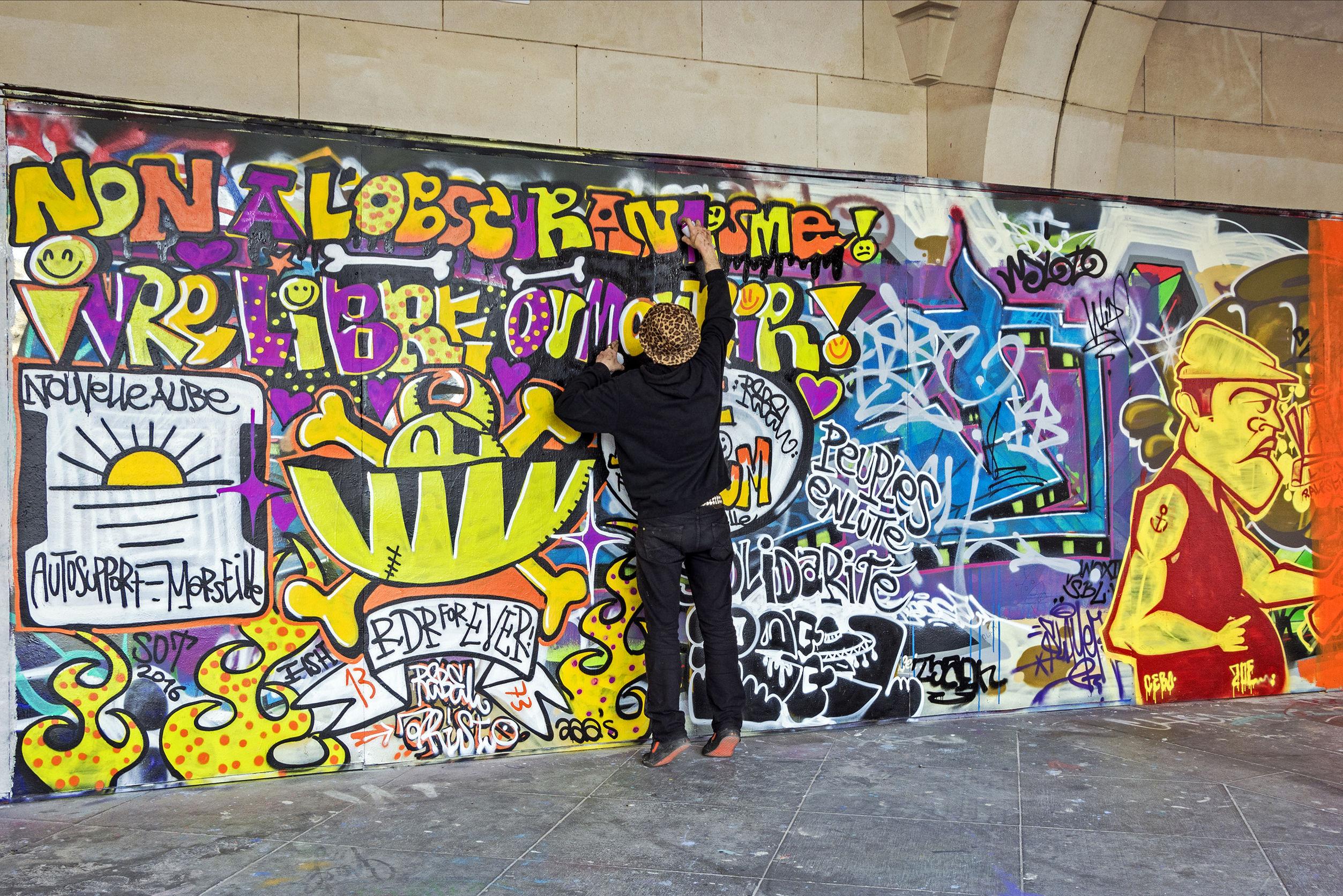 Graffiti, odstraňování Brno,
