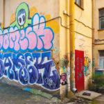 jak chránit fasádu před graffity