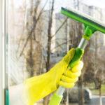 Efektívny spôsob čistenia okien