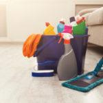 pravidelné čištění podlah