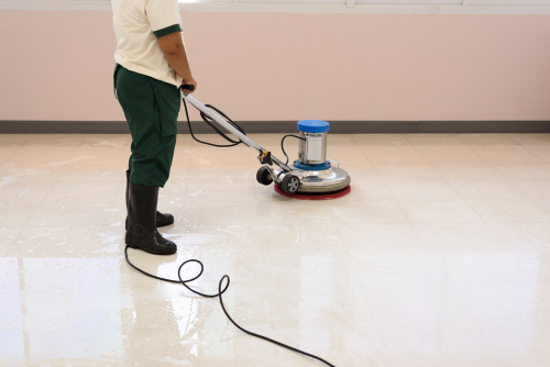 Čistá podlaha