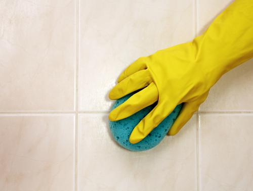 priemyselné čistenie podlahy