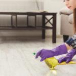 jak efektivně vyčistit podlahu