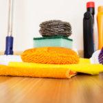 hlbkové čistenie podlahy