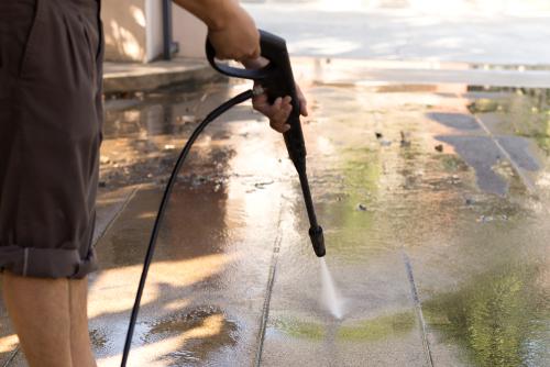 čistenie liatých podlah