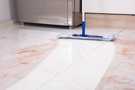 Bez strojového čištění bych dnes čisté podlahy neměla