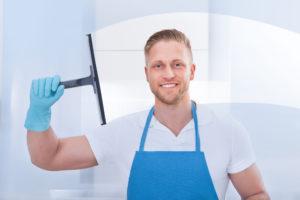 mytí oken bez leštidel